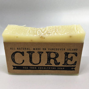 Cure Natural Soap Bars - Tea Tree Eucalyptus