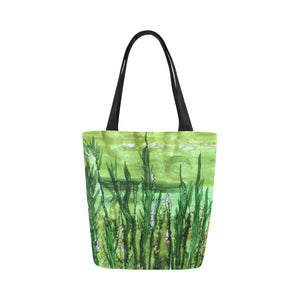 Canvas Fine Art Tote Bag - Field of Dreams, by West Coast Artist, Pattiann Withapea