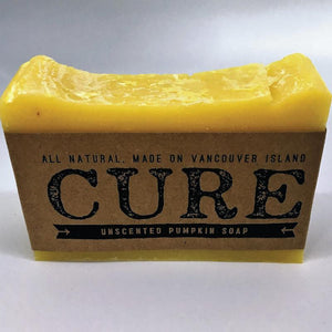 Cure Natural Soap Bars - Unscented Pumpkin