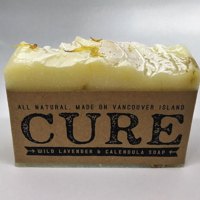 Cure Natural Soap Bars - Wild Lavender & Calendula