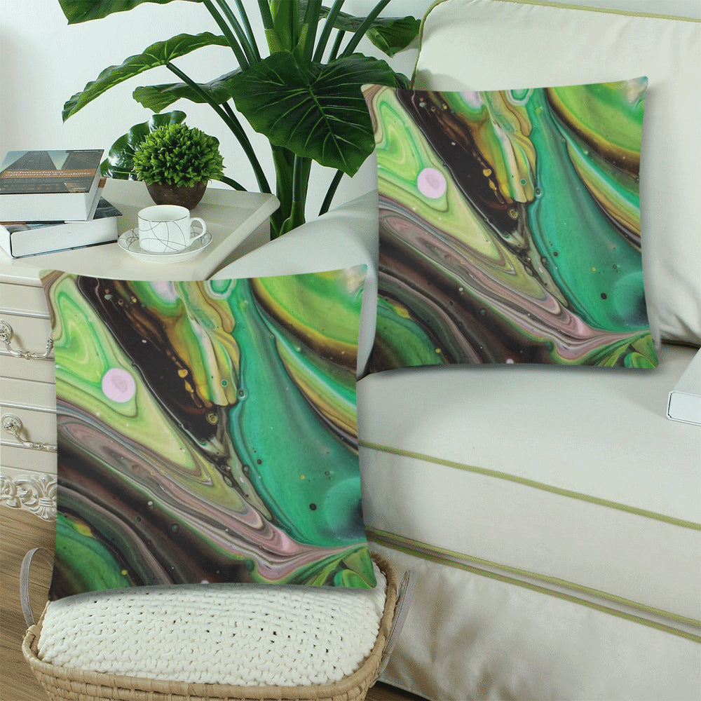 Designer Pillow Covers - Choco Swirl