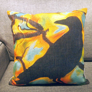 Printed Pillow Cover - Crow