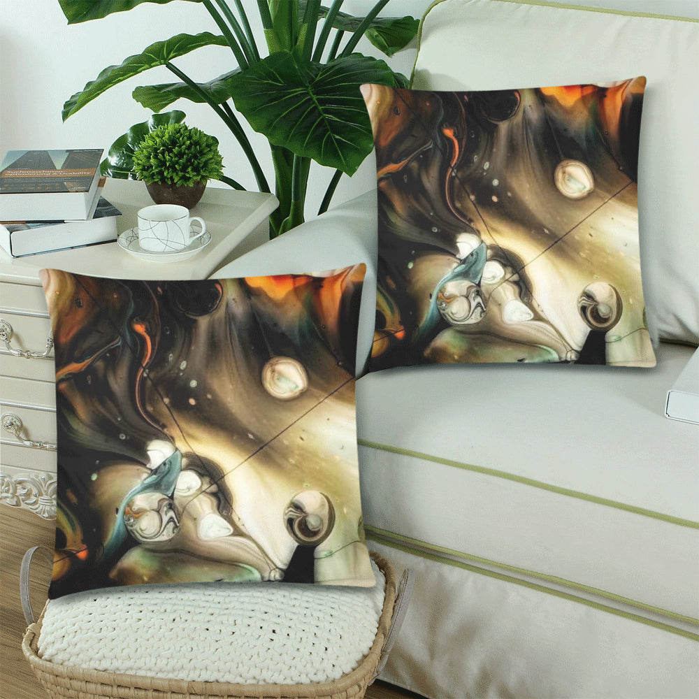 Designer Pillow Covers - Full Moon Rising