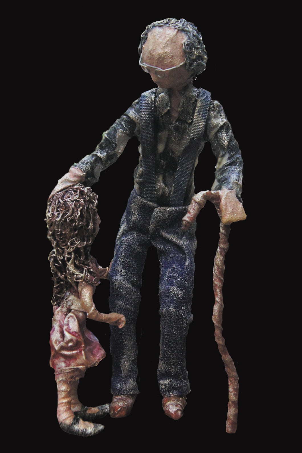Grandpa mixed media sculpture from West Coast Artisan Gallery