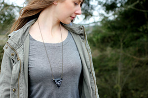 Long Animal Medicine Pouch Necklace