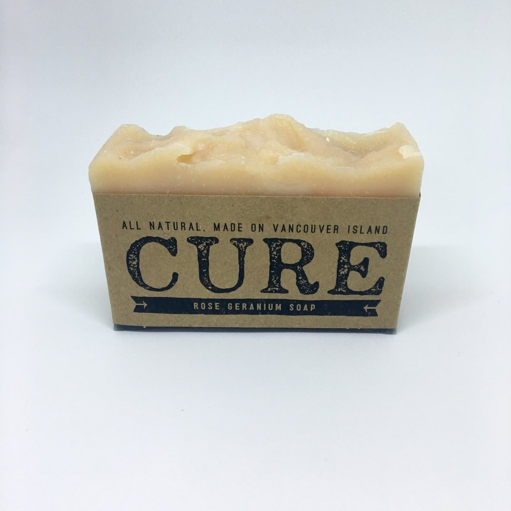 Cure Natural Soap Bars - Rose Geranium Soap