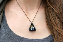 Load image into Gallery viewer, Small Triangle Mountain Diorama Necklace