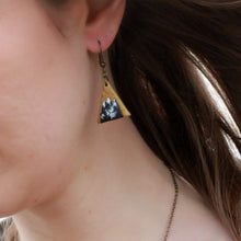 Load image into Gallery viewer, Triangle Mountain Earrings
