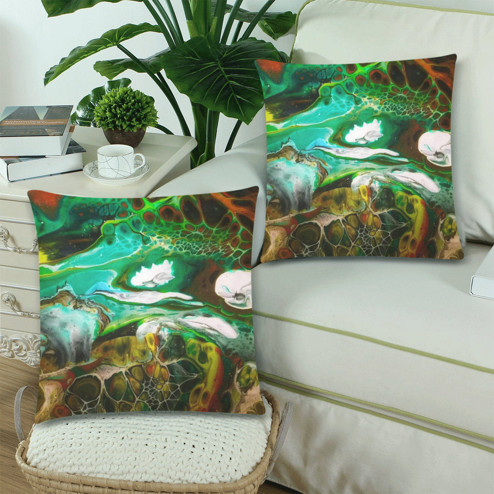 Designer Pillow Covers - Turtle Paradise