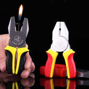 Portable Mini Pliers Shape Cigarette Lighter