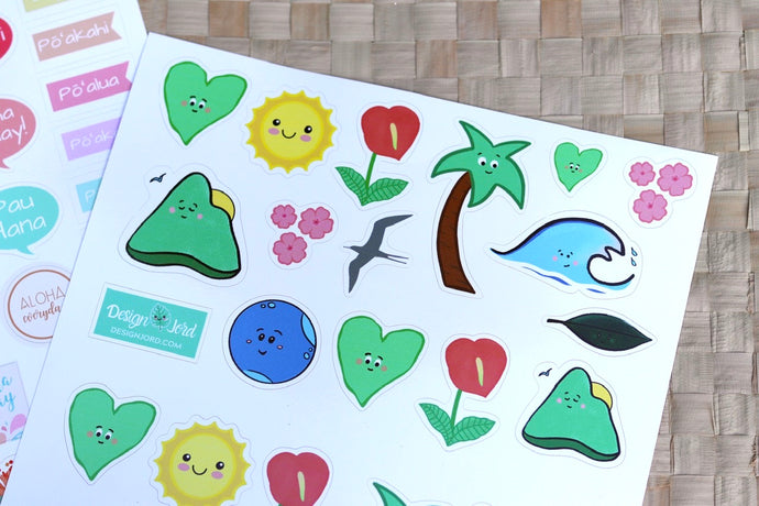 Our Island Home - Keiki Sticker Sheets