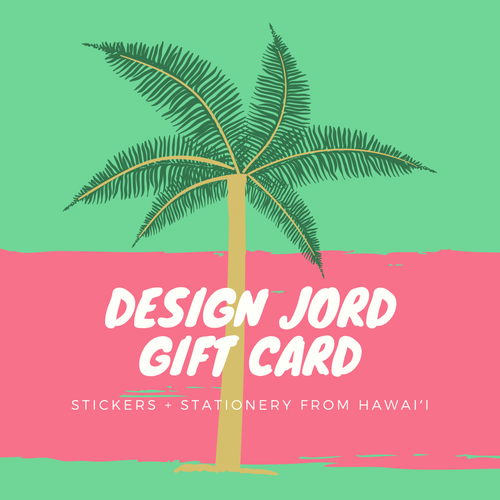 Design Jord Digital Gift Cards!