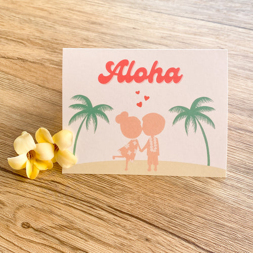 Aloha, I Love You! - Greeting Card