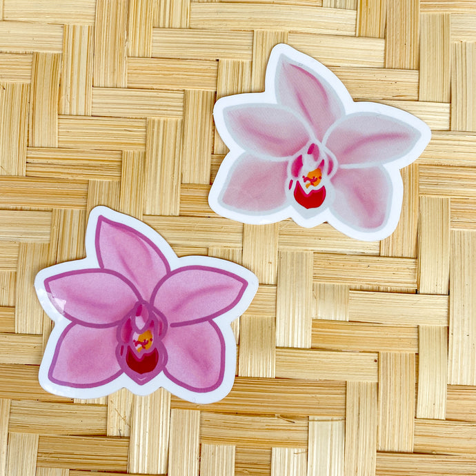 Orchid - Pack of 2 Mini Stickers