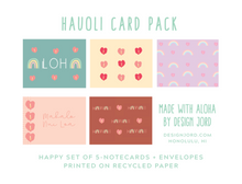 Load image into Gallery viewer, Hauoli Greeting Card  Set