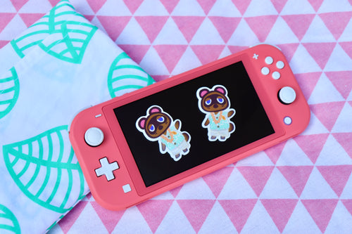 Island Life - Animal Crossing Pack of 2 Stickers