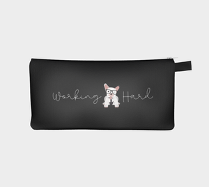 Work Hard, Play Hard - Fabric Pouch