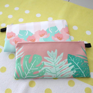 Nuuanu Leaves - Fabric Pouch