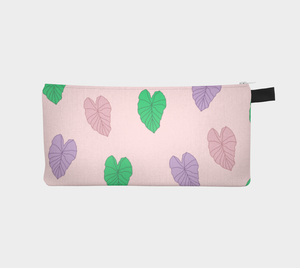 Kalo Leaves - Fabric Pouch