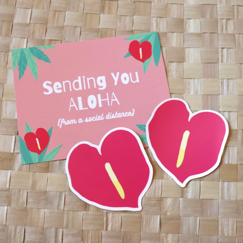 Anthurium - Large Sticker