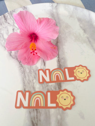 Nalo - Medium Sticker *RESTOCKED*