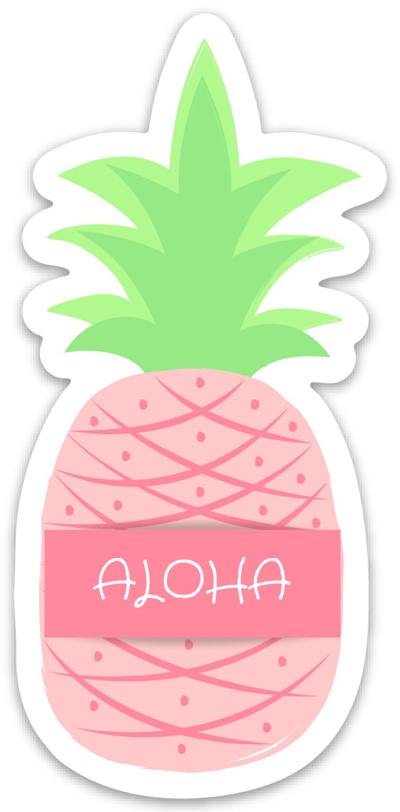 Aloha Pineapple - *New* Small Size