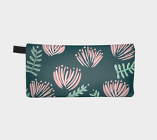 Load image into Gallery viewer, Ohia Lehua - Teal Fabric Pouch