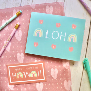 Hauoli Greeting Card  Set