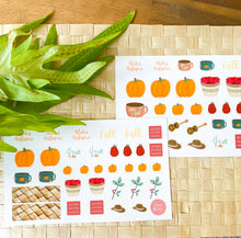 Load image into Gallery viewer, Pumpkins & Mountain Apples: Fall 2020 Sticker Sheet