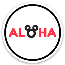 Load image into Gallery viewer, Aloha mouse ears - Mini sticker