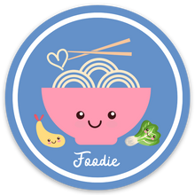 Load image into Gallery viewer, Foodie! Sticker - Medium