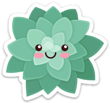 Load image into Gallery viewer, Happy Succulent - Medium Sticker