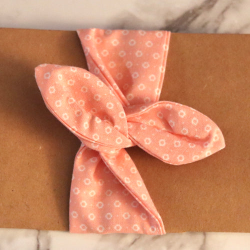 Peach Hair Wrap - Medium