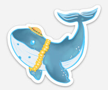 Load image into Gallery viewer, Hawaiian Humpback Whale - Medium Sticker