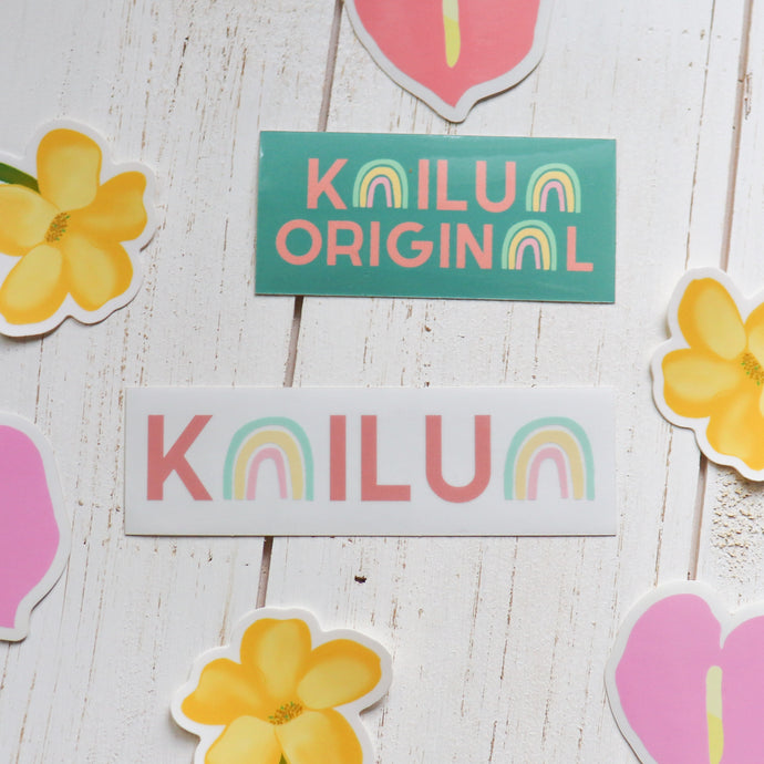 Kailua - Pack of 2 Stickers *LIMITED EDITION*