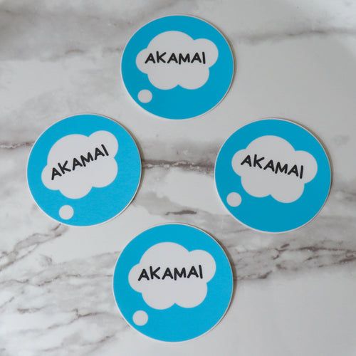 Akamai Circle Sticker