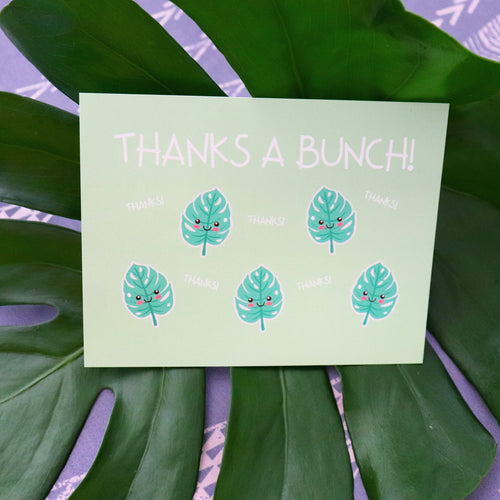 Thanks a Bunch! - Postcard