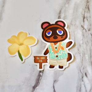 Tom Nook - Large Sticker