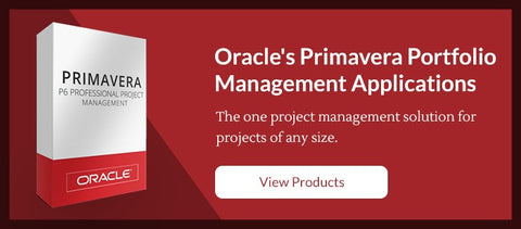 Oracle Primavera Products List