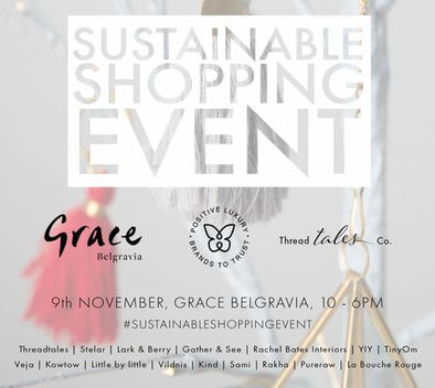 Sustainable Shopping Event at Grace Belgravia