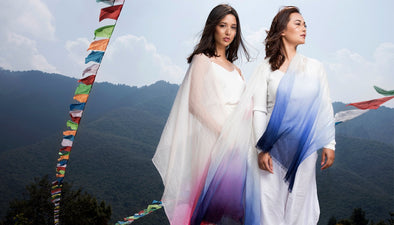 Fashion Shoot on Peace Mountain, Nepal
