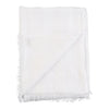 Metallic Gauzy Handloomed Scarf - White