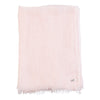 Metallic Gauzy Handloomed Scarf - Pink