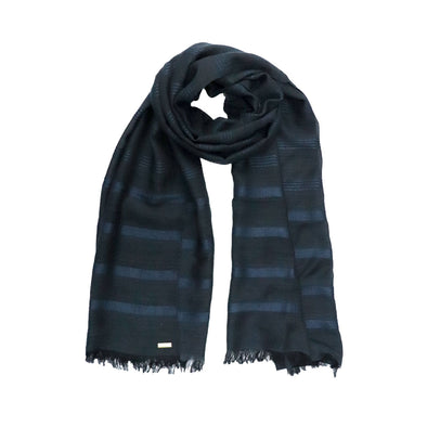 Tibetan Heritage Midnight Blue Wrap