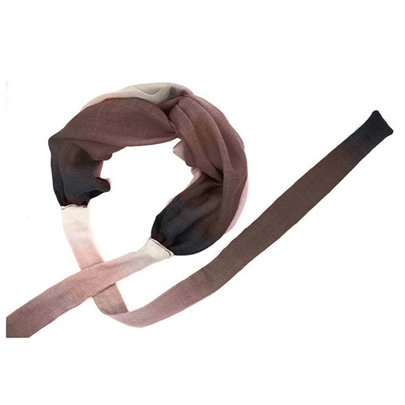 Peace Mountain Headband - Dip-Dyed