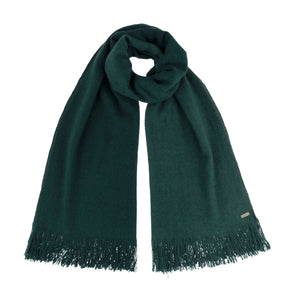 Hand Woven Yak Scarf - Forest Green