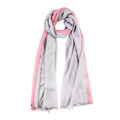 luxury cashmere grey scarf