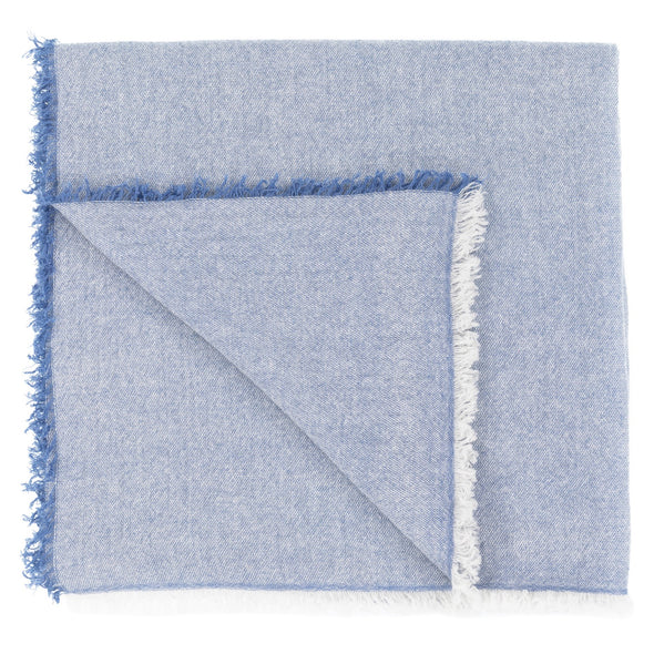 Serenity Cashmere and Seacell Scarf - Blue (Pre-Order)