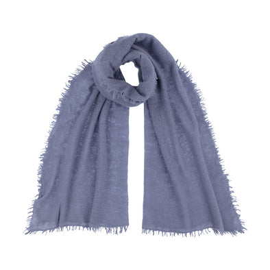 Felted Cashmere Scarf - Blue Fossil