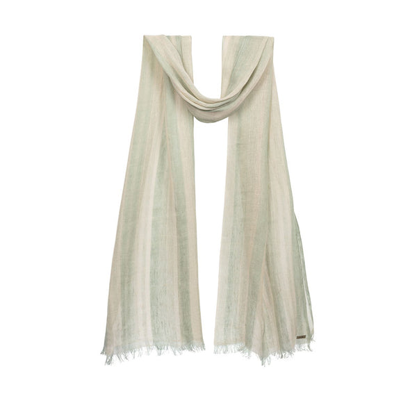 Cloud Linen Scarf - Khaki - 50% off